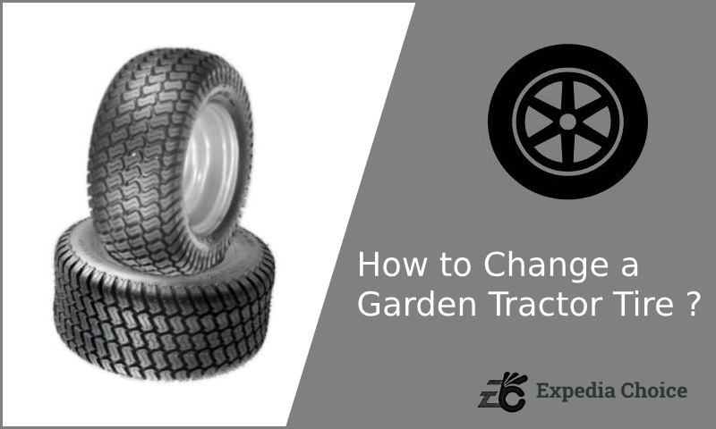 How to Change a Garden Tractor Tire