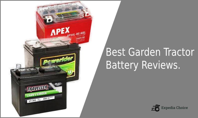 Best Garden Tractor Battery