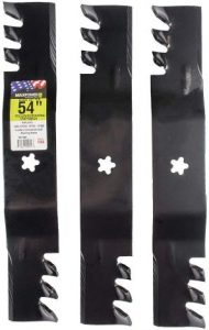MaxPower 561738XB Commercial Mulching 3-Blade Set for a 54