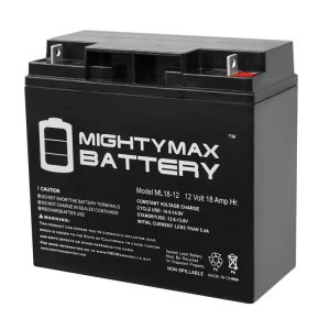 Mighty Max Battery 12V 18AH SLA Battery for DR Field and Brush Mower Brand Product